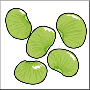 Bean clipart lima bean Transparent pictures on F.