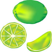 Lime Fruit Clip Art.