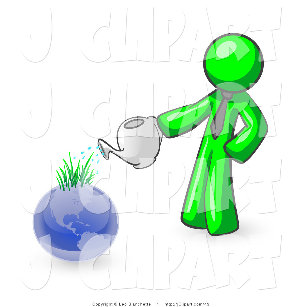Earth in grass clipart.