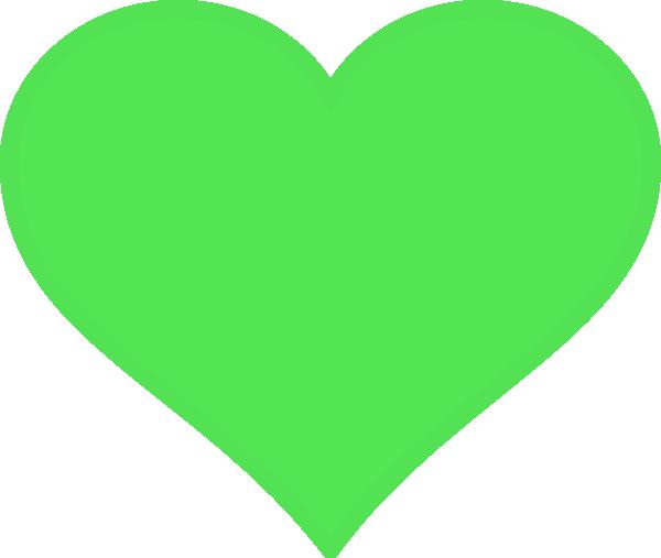 Green Heart Clipart.