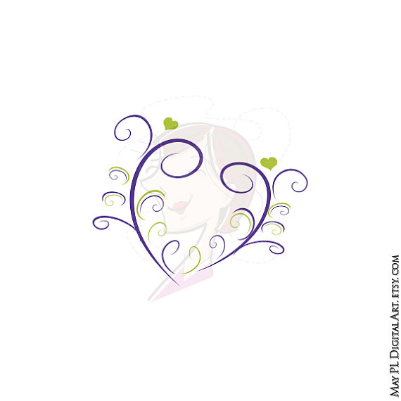 Elegant heart design
