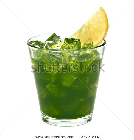 Wheatgrass Drink Stock Photos, Royalty.