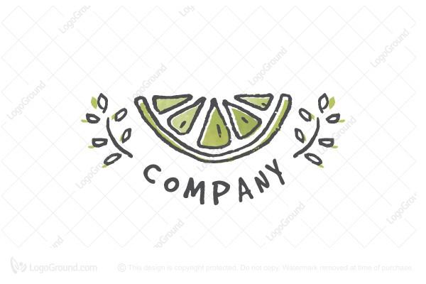 Exclusive Logo 188998, Lime Logo.