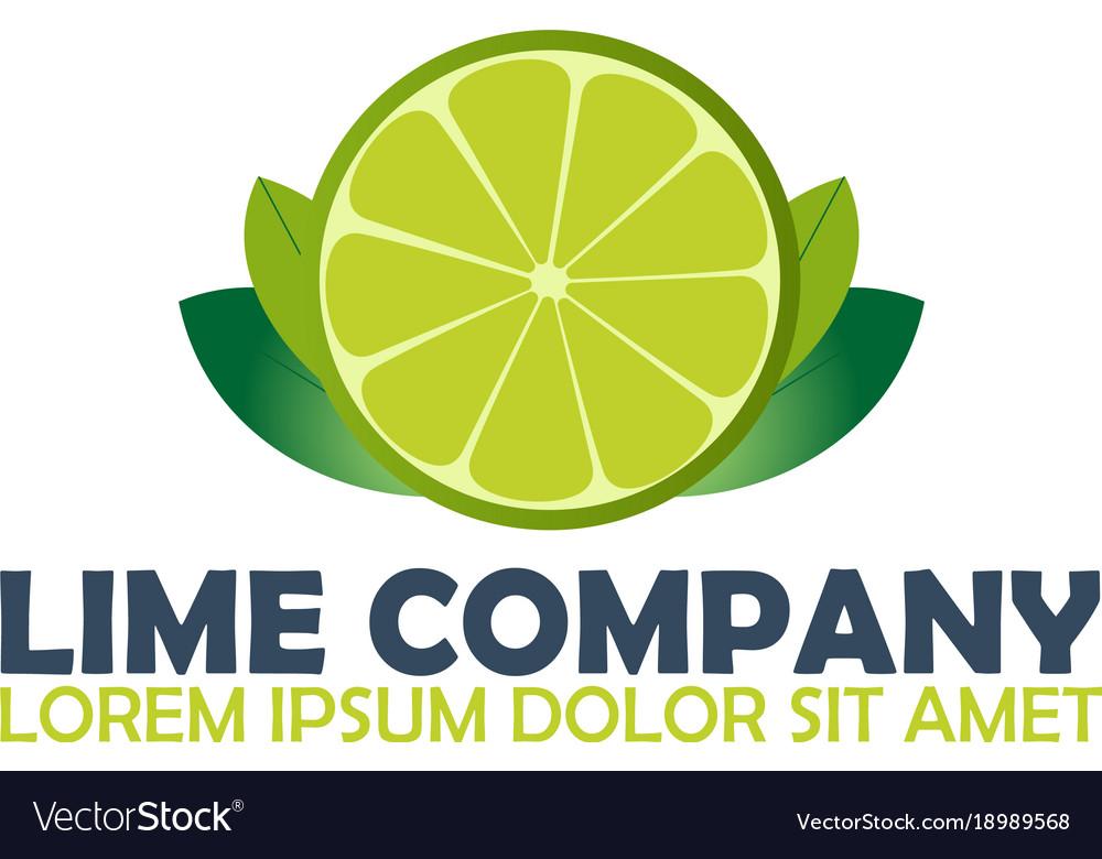 Lime logo company citrus logo.