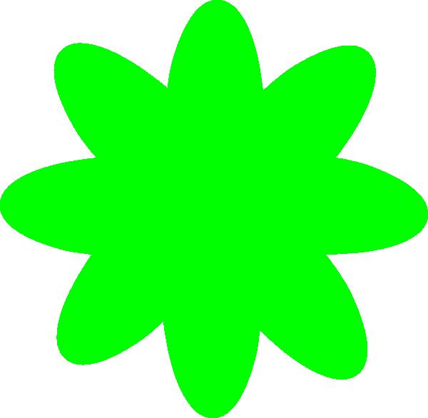 Lime Green Flower Clip Art at Clker.com.