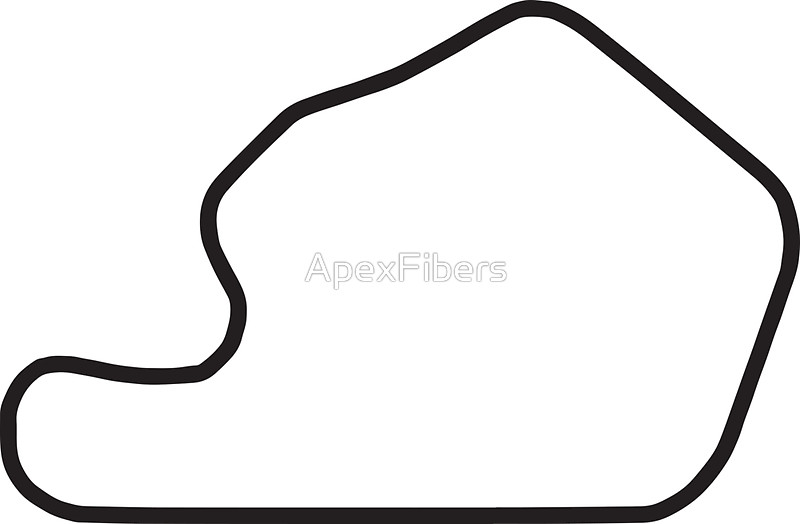 "Lime Rock Park track map sticker"" Stickers by ApexFibers."
