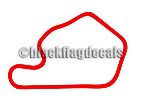 Lime Rock Park track sticker.