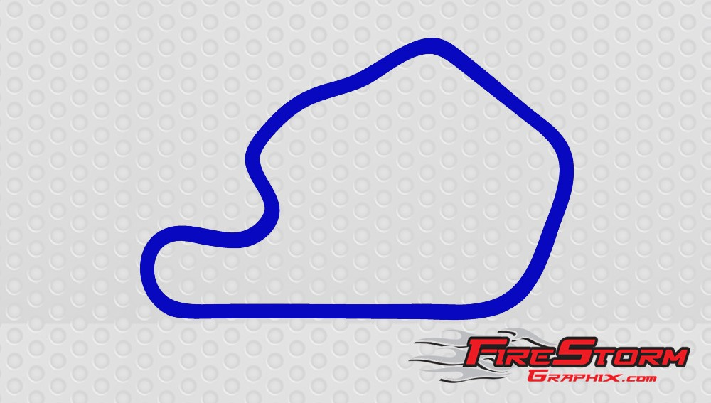 Lime Rock Park Track Decal.