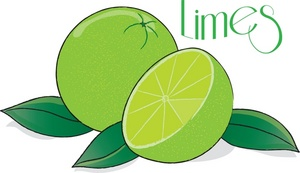 Limes clipart #19