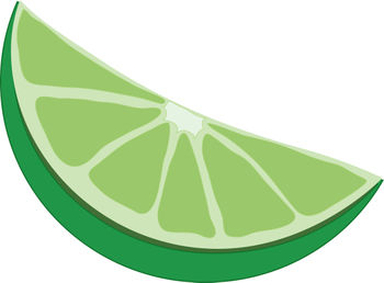 Cartoon Lime Clipart.