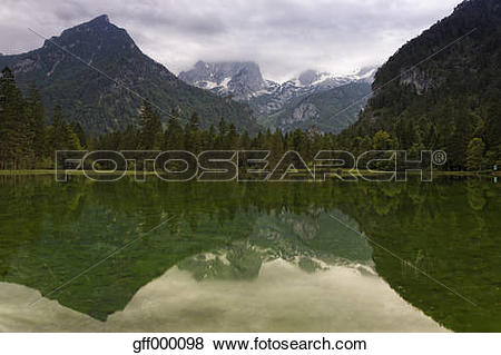 Pictures of Austria, Upper Austria, View of Limestone Alps.