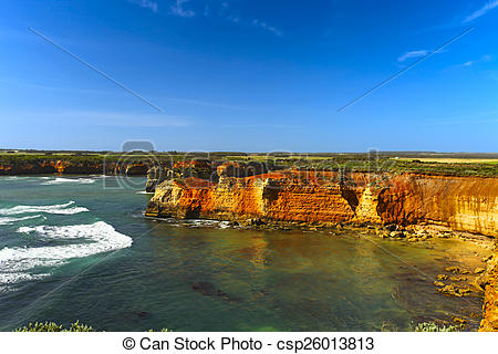 Stock Photography of Limestone Cliffs.