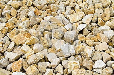 Limestone Gravel Royalty Free Stock Photos.