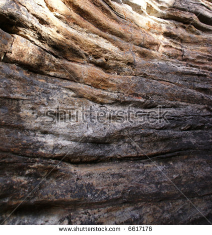 Limestone Layer Stock Images, Royalty.