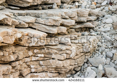 Limestone Layer Stock Photos, Royalty.