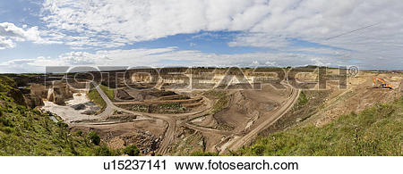 Stock Photography of England, Tyne and Wear, Sunderland. Panoramic.