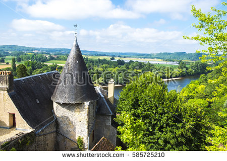 """""""the Most Beautiful Villages Of France"""" Stock."""