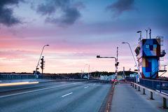 The Bridge Of Aalborg Stock Photo.