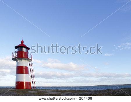 Red And White Lighthouse Lizenzfreie Bilder und Vektorgrafiken.