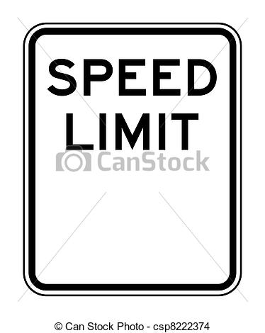 Speed limit clipart - Clipground