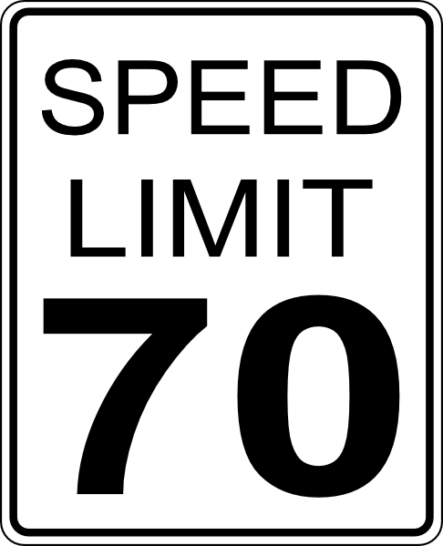 30 Speed Limit Sign Clipart.