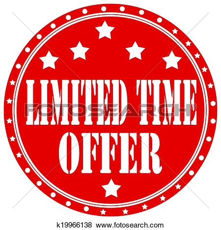 Clip Art of Limited Time Offer.