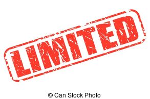 Vector Clipart of OFF LIMITS RED STAMP TEXT ON WHITE csp35463400.