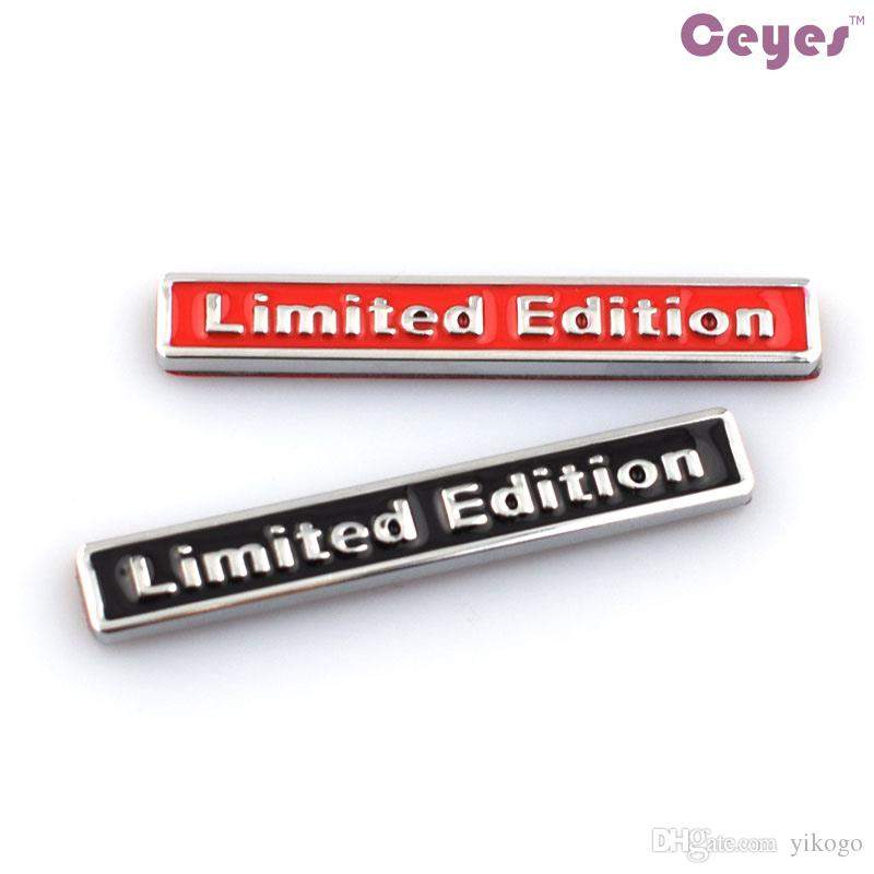 Car Styling 3D Metal Logo Stickers Limited Edition Badge For Bmw Audi Opel  Saab Seat Jeep Lada Nissan Toyota Car Emblems Stickers All Cars Emblems All.