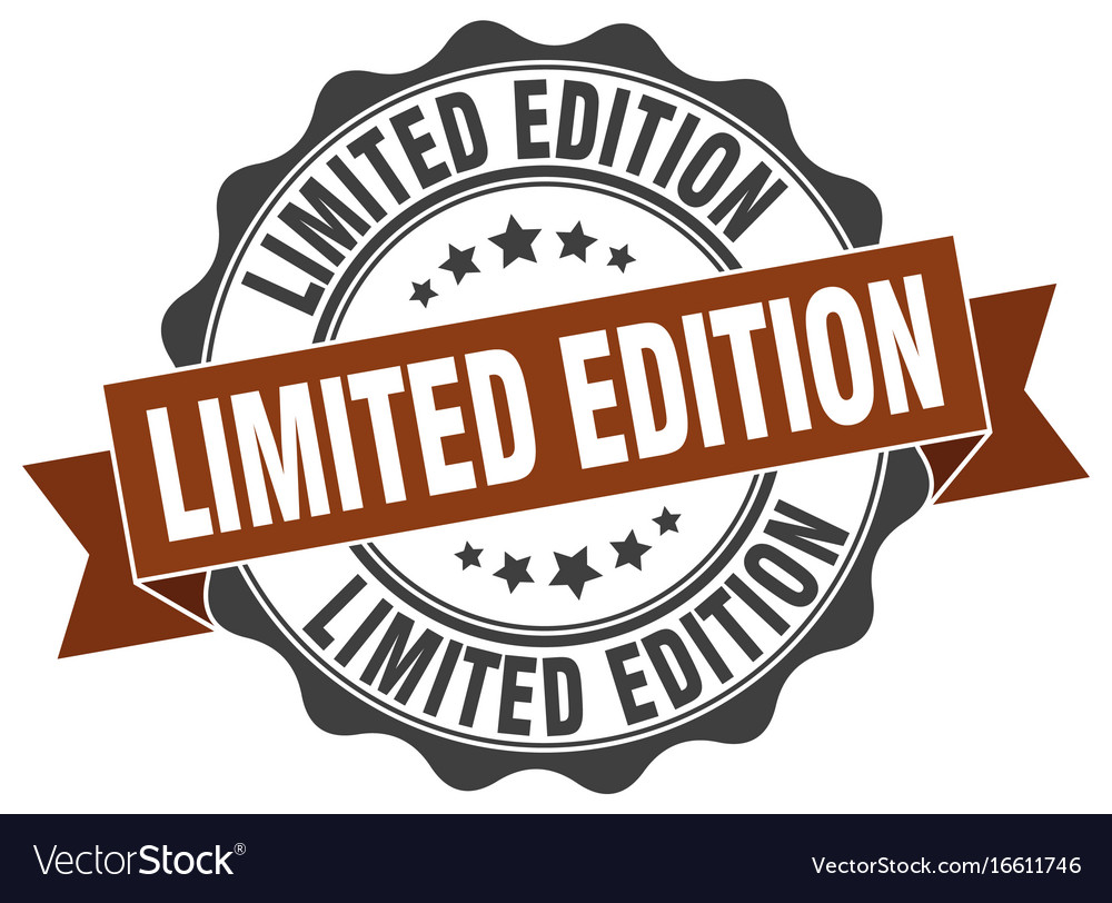 Limited edition stamp sign seal.