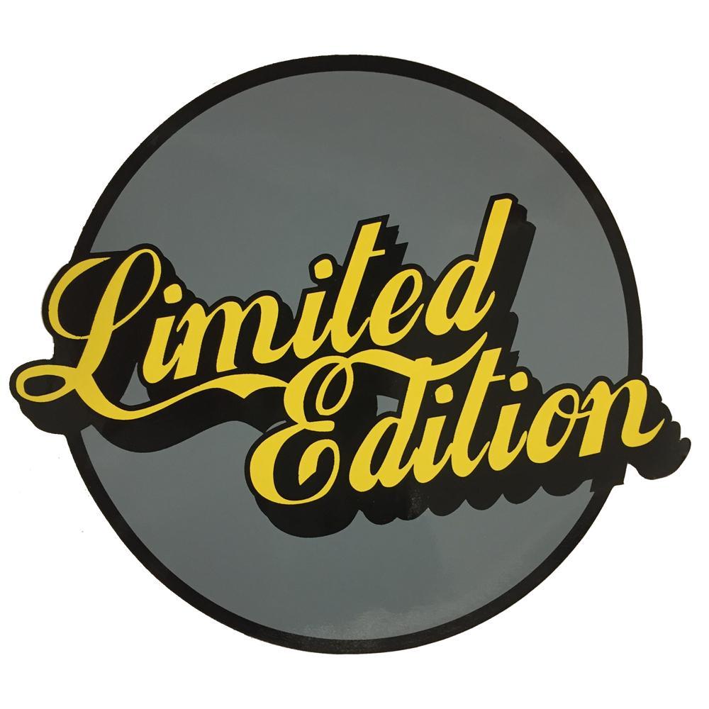 Limited Edition Sticker.