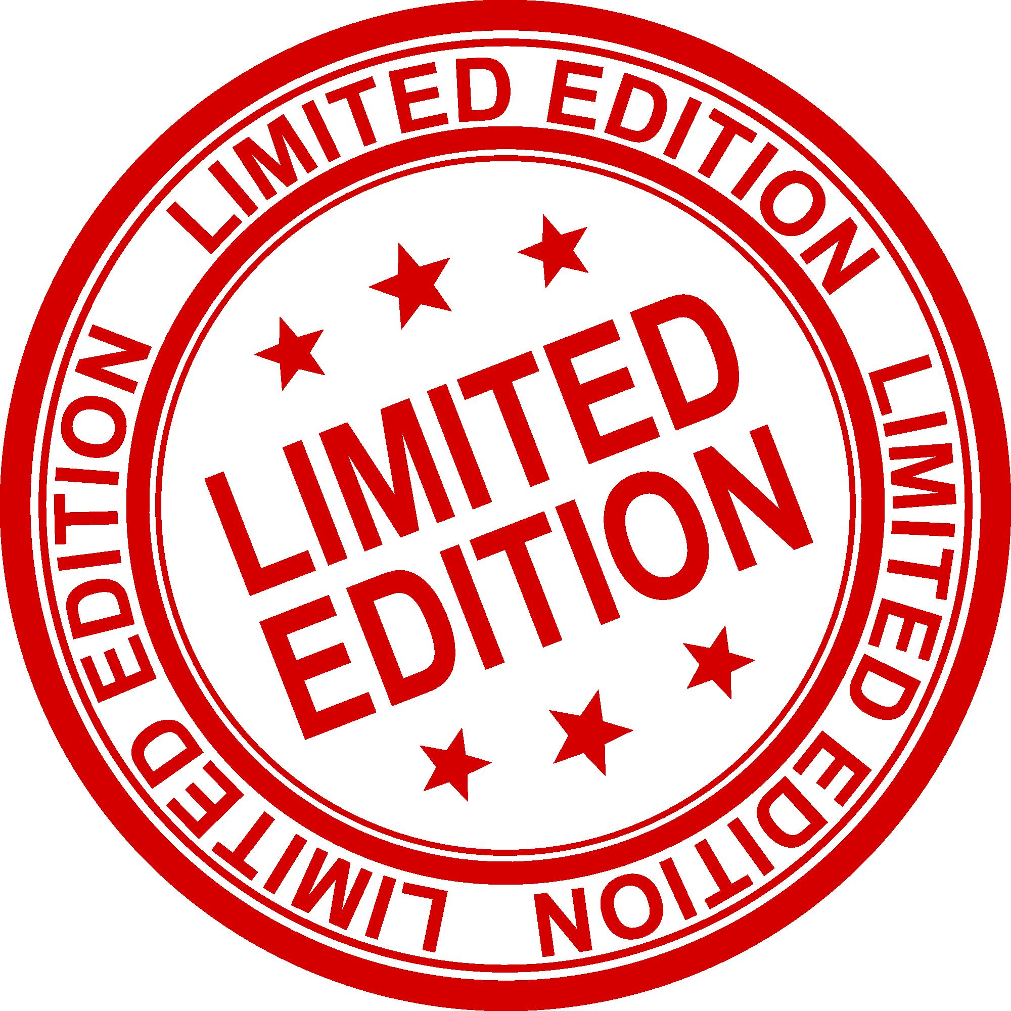 4 Limited Edition Stamp Vector (PNG Transparent, SVG.