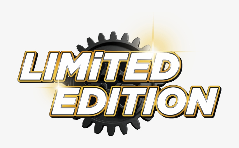 Limited Edition Badge Png.