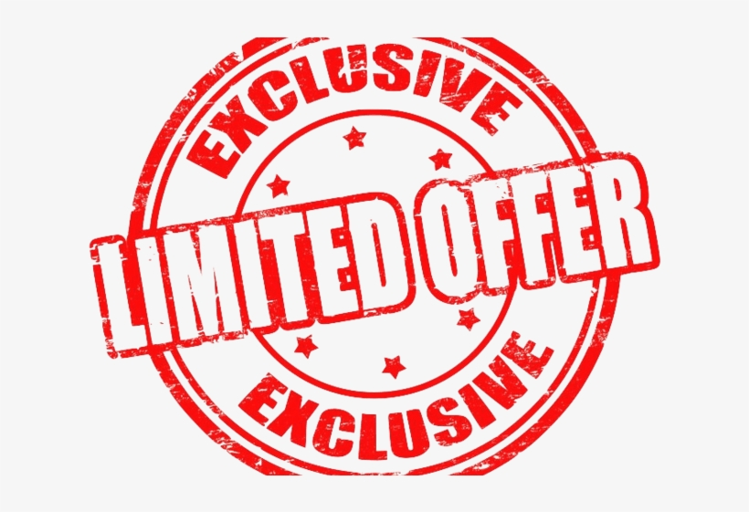Limited Offer Clipart Png.