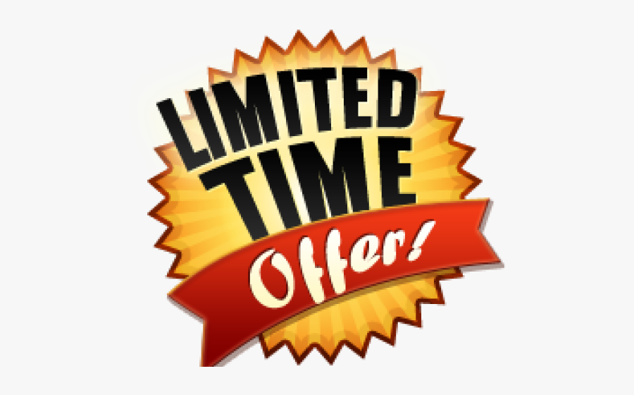 Limited Time Only Png , Free Transparent Clipart.