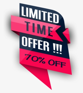 Limited Time Offer Png PNG Images.
