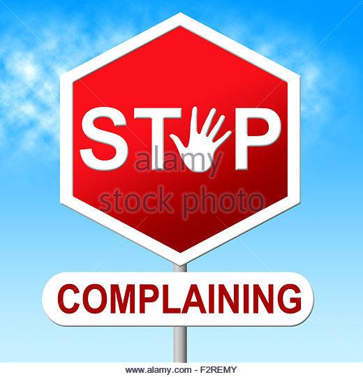 Complaints Complaint Complain Complaining Stock Photos.