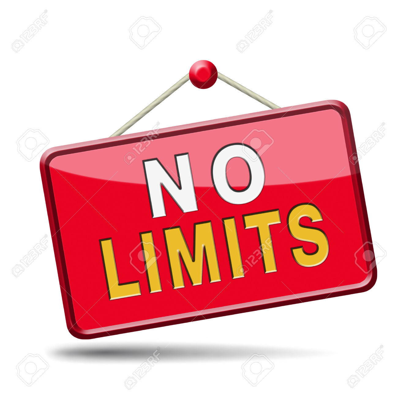 No Limits Or Boundaries Unlimited And Without Restrictions Icon.