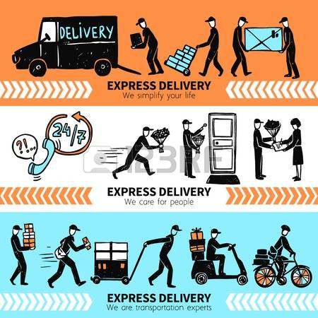 11,585 Express Delivery Stock Illustrations, Cliparts And Royalty.