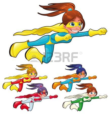 4,377 Super Girl Stock Illustrations, Cliparts And Royalty Free.