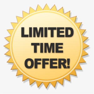Limited Offer Png PNG Images.