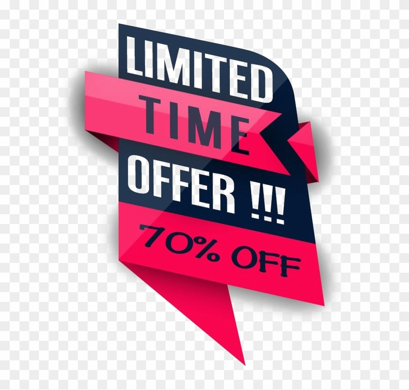 Limited Offer Png Free Download.