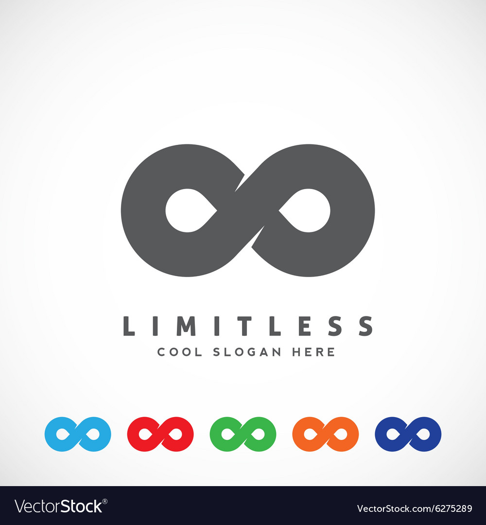 Abstract Limitless Symbol Icon or a Logo.