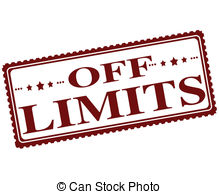 Clip Art Off Limits Clipart.