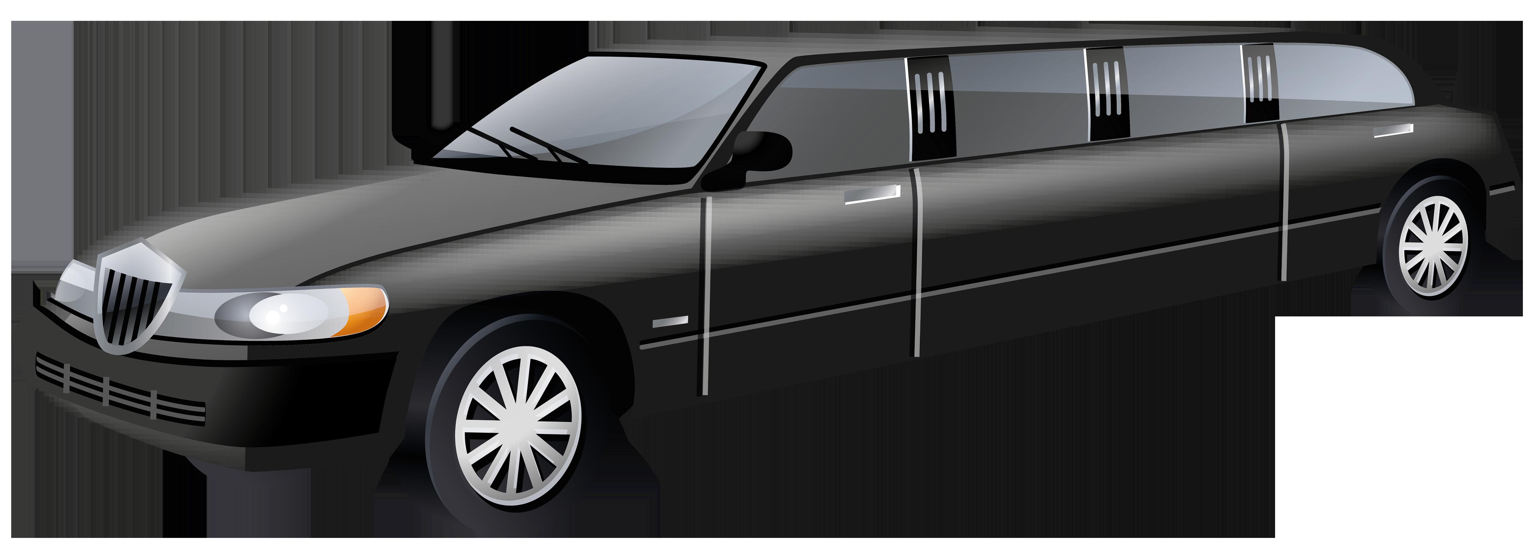 limousine car clipart #2