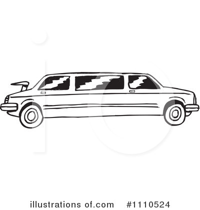 Wedding Limo Clipart.