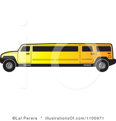Hummer limo clipart.