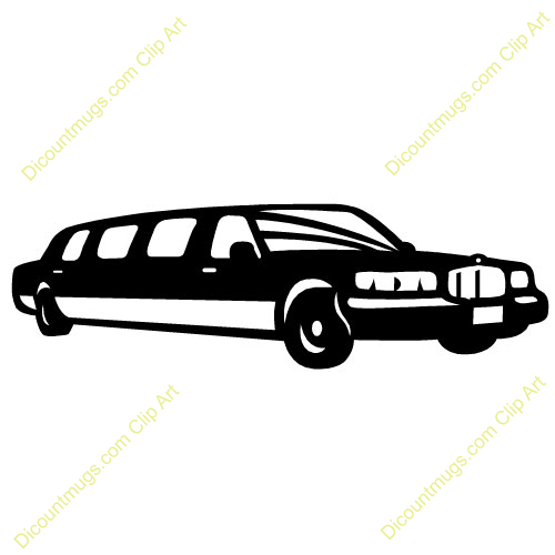 Limo Clipart.