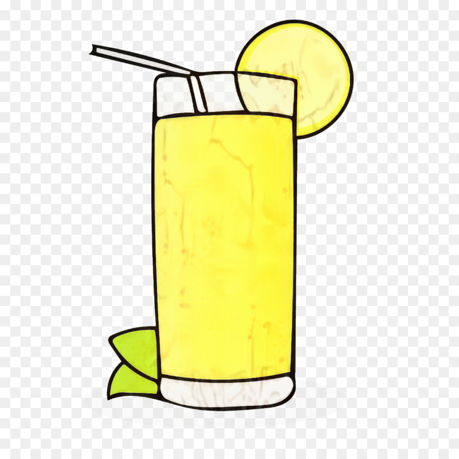 Limonade Orangensaft Cocktail ClipArt.