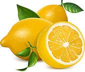 Lemons Clip Art.