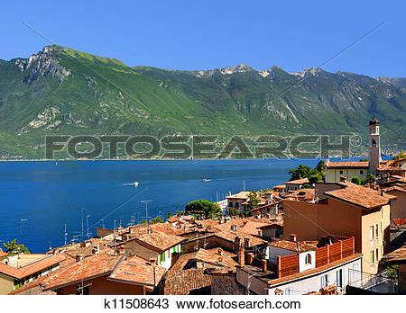 Stock Photo of Limone sul Garda k11508643.